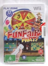 Nintendo Wii FunFair Party Pal 2 player 20 games Sealed 2008 New RARE Christmas