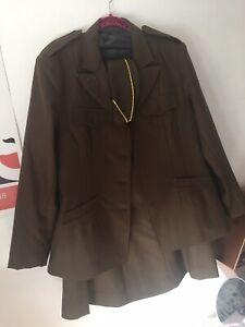 US WW2 WAC Womens Army Corps WWII Uniform Jacket & Skirt Size 16/18