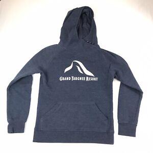 Grand Targhee Ski Resort Sweatshirt Size S Small #171 Buttons And Hood