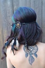 Dreamcatcher Feather Headband - Tribal - Native American - Indian - Burning Man