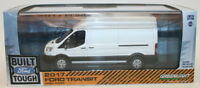 Greenlight 1/43 Scale Model Car 86083 - 2017 Ford Transit High Roof- White