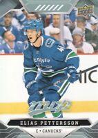 2019-20 Upper Deck MVP Hockey #133 Elias Pettersson