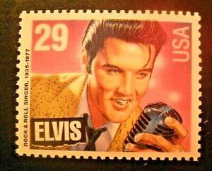 US Scott #2721, 29c  Elvis Presley, MNH/OG, 29 Cent