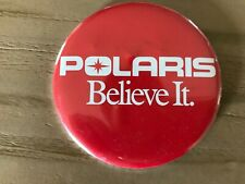 Vintage Polaris Believe It Button Pin Pinback