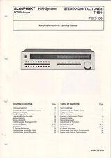 Blaupunkt-t-150 - 7629160-servizio clienti carattere Service Manual-b3553