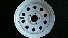 15x5  5x4.5 White Mod Trailer Wheel / Rim 15 Inch / 5 Lug C/O RV LOW $  Spare