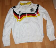 Deutschland WM 1990 Retro Zip Jacke  - adidas - M - Fussball - DFB