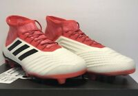 Adidas Mens Size 9 Predator 18.2 FG Athletic Soccer Cleats Shoes New