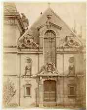 J.D. France, Paris, porte du Luxembourg, jardin d'hiver  vintage albumen pr