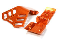 INTEGY RC C25902ORANGE Machined F Skid Plate for Traxxas 1/10 Scale Summit 4WD