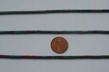 Hämatit(galvanisiert)-Strang-3 St(Zylinder,5x3mm) K-0932/K