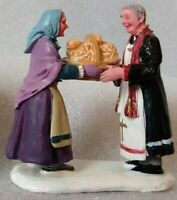 Lemax Christmas Village Collection Figurine Rolls for Father Accessory