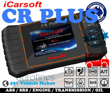 iCarsoft CR PLUS OBD2 Car Engine Fault Diagnostic Scanner Auto Code Reader Tool