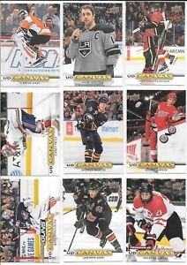 U PICK EM LOT 2019-20 19-20 Upper Deck UD Canvas YG RC POE Stars cards #C1-C270
