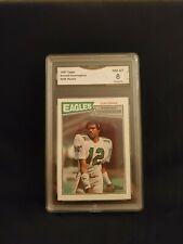 1987 Topps Randall Cunningham Philadelphia Eagles #296 Rookie Card GMA 8 Mint!