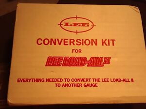 Lee Load-All 2 20GAUGE CONVERTION KIT  NEW IN BOX