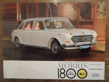 MORRIS 1800 Mk.II orig 1970 1971 UK Mkt Sales Brochure - BL 2752/A