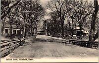 Postcard Island Park in Winfield, Kansas~131520