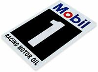 Mobil Racing Oil Gas Oil Garage Auto Shop Rustic Metal Decor Sign