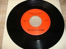 """SP GENE CHANDLER """" EVERYBODY LETS DANCE / YOU CAN'T HURT ME NO MORE """""""
