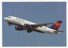 Delta Airlines A319-114 Aviation Postcard, A703