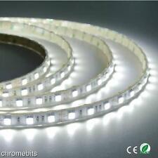 12v 5M WHITE LED SMD STRIP ROPE RIBBON BRIGHT PLINTH LIGHT WATERPROOF LIGHTING