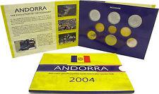 Andorra 2 euro & 25 centime 2004 Bu. KMS nella cartella