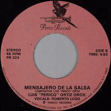 """LUIS """"PERICO"""" ORTIZ: Mensajero De La Salsa Latin Jazz Funk 45 Hear"""