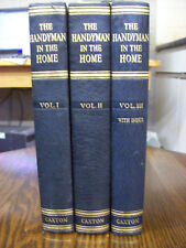 The Handyman in the Home Volumes 1, 11, 111. By Caxton Publishing