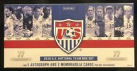2015 Panini US Soccer Mens And Womens National Team Box Set