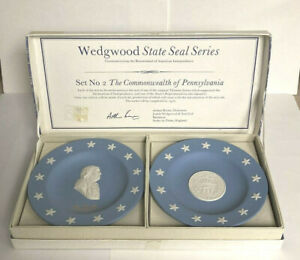 Wedgewood State Seal Series  #2 - The Commonwealth Of Pennsylvania