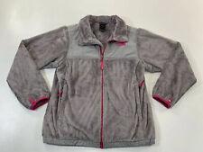 THE NORTH FACE Denali Fleece Gray Pink Jacket Youth Girls XL