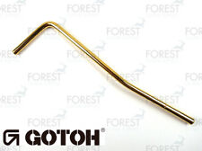 Gotoh F3 Tremolo arm / bar, gold finish, Ø 5.5 mm Floyd Rose style for GE1996T