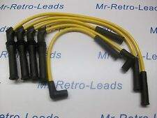 YELLOW 8MM IGNITION LEADS PEUGEOT 309 405 1.9 MI16 16V BX19 CITROEN 16V QUALITY