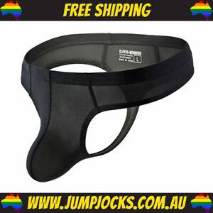 Black Silk-Feel Thong - G-String, Underwear, Sexy **FREE SHIPPING**
