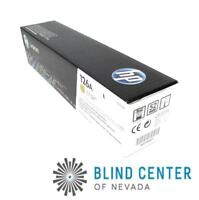 NEW Genuine HP 126A Yellow Toner Cartridge CE312A HP LaserJet CP1025 CP1025nw