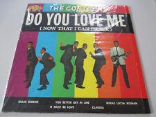 THE CONTOURS-DO YOU LOVE ME-SHRINK-ORIGINAL TOP COPY-VINYL LP RECORDS-GORDY 901