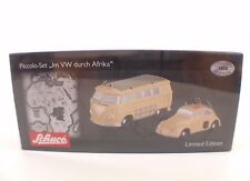 Schuco Piccolo-Set Im VW durch Afrika neuf en boite / boxed edn limited mint