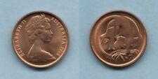 1968 One Cent.. Full Original Lustre - Ex Mint Roll..  BU