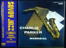 CD CHARLIE PARKER - memorial vol. 2, Japan-Import