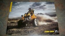 2007 BOMBARDIER CAN-AM QUAD   BROCHURE WRITTEN IN FRENCH