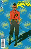 WE ARE ROBIN #2 1:25 RAFAEL ALBUQUERQUE VARIANT 1ST PRINT DC COMICS 2015