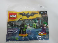 Brand New Lego - The Joker Battle Training (2017) - The Batman Movie - 30523