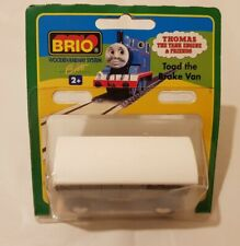 Thomas The Tank Engine & Friends BRIO TOAD WOOD BRAKEVAN WOODEN NEW IN BOX