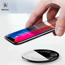 Baseus 10W Qi Fast Wireless Charger For iPhone X Samsung S9 S8 Plus S7 S6 Note 8