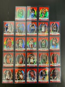 (23) 2006-07 Finest Refractors LOT HOF Duncan McGrady Carmelo Paul Pierce Bird