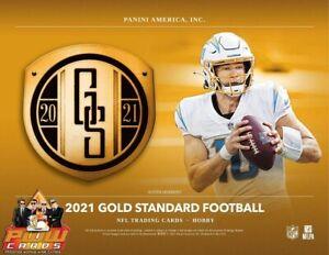 MIAMI DOLPHINS 2021 Gold Standard Football 6-Box Half Case Break #3