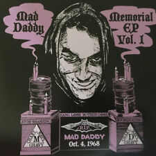 "MAD DADDY 'Memorial EP Vol 1 7"" Wavy Gravy Mello Jello Pete Myers WINS WNEW WHK"