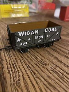 Oxford Rail OR76MW7017W OO Gauge, 7 plank open wagon 'Wigan Coal'