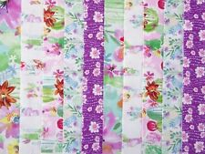 20 JELLY ROLL STRIPS COTTON PATCHWORK FABRIC 22 INCH LONG ~ SUN VALLEY